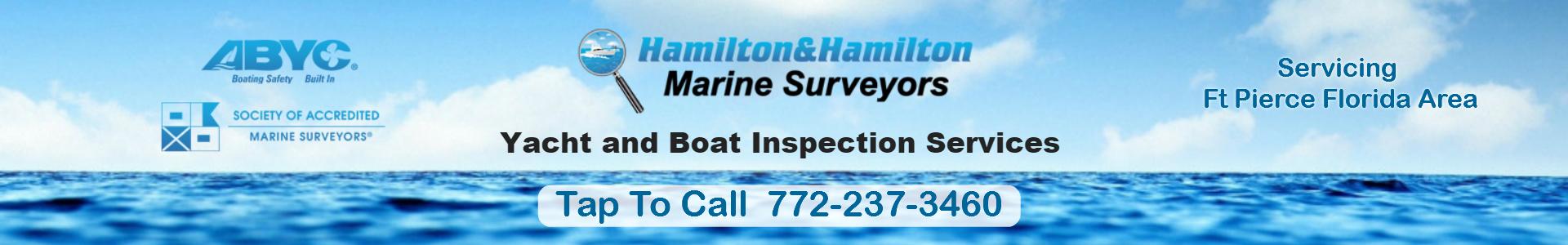 Marine Surveyor Ft Pierce FL Boat Inspection SAMS Surveyors Ft Pierce