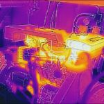 boat inspection survey with engine using thermography in West Palm Beach