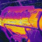 Boat inspection marine surveyor using infrared thermography - Palm Beach FL