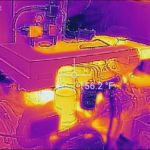 Marine survey in Palm City FL using thermal imaging.